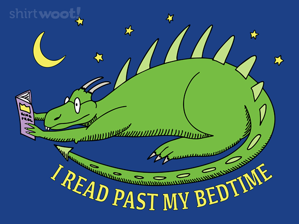 Woot!: I Read Past My Bedtime