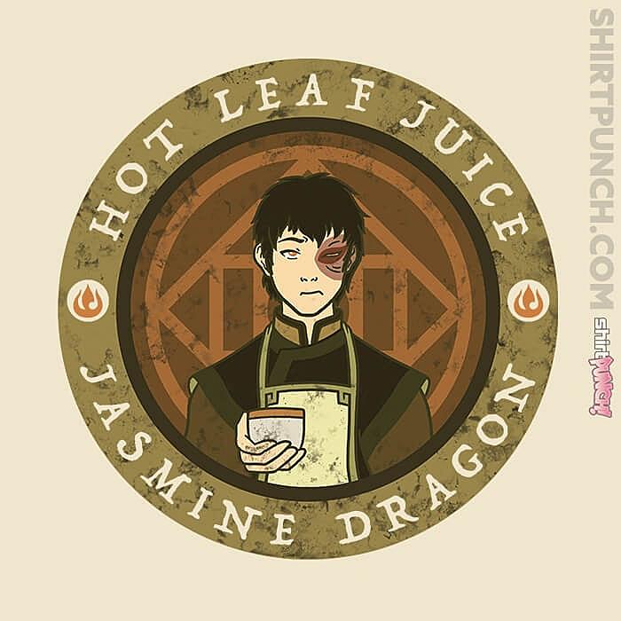 ShirtPunch: Hot Leaf Juice