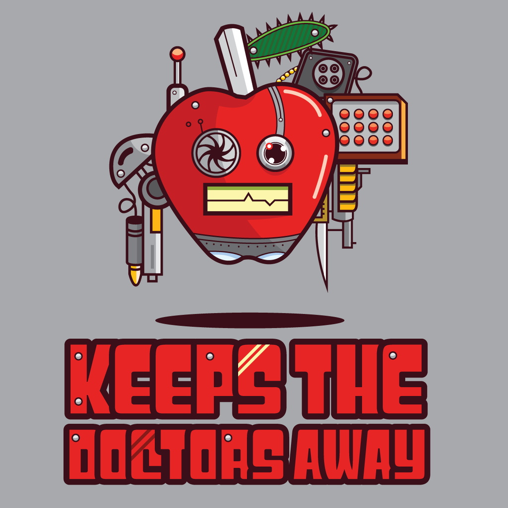 Awkward Designs: Apple Keeps The Doctors Away