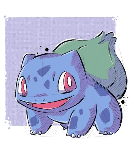 Qwertee: Grass Frog