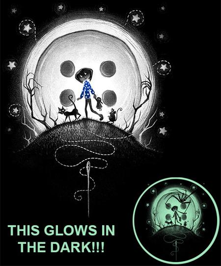 Qwertee: Behind The Door-Glow