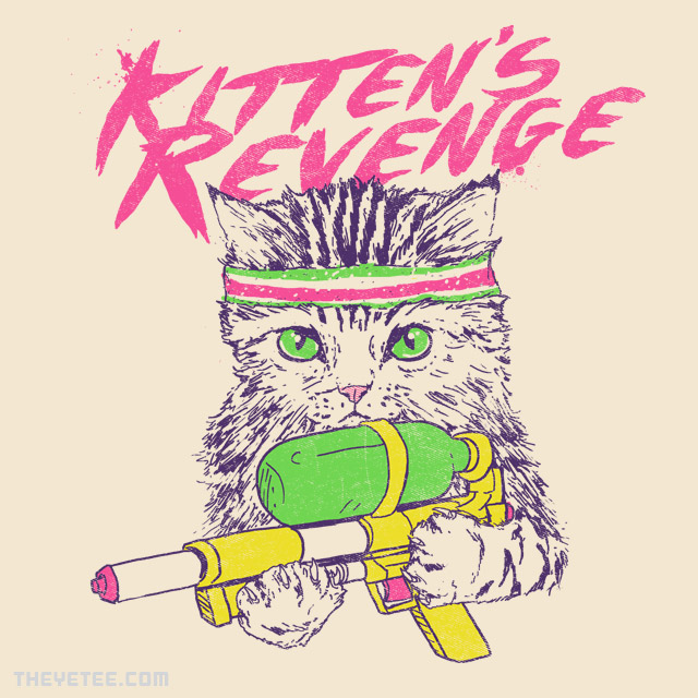 The Yetee: Kitten's Revenge