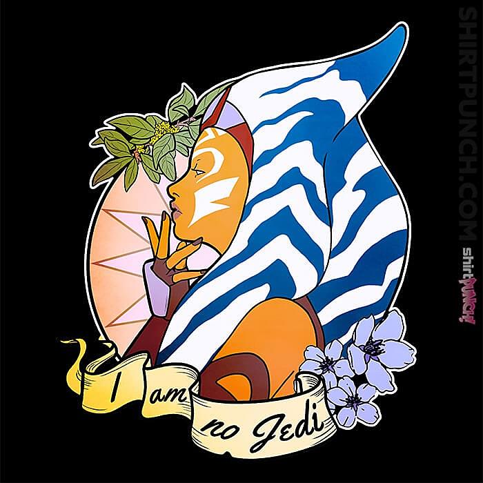 ShirtPunch: I Am No Jedi