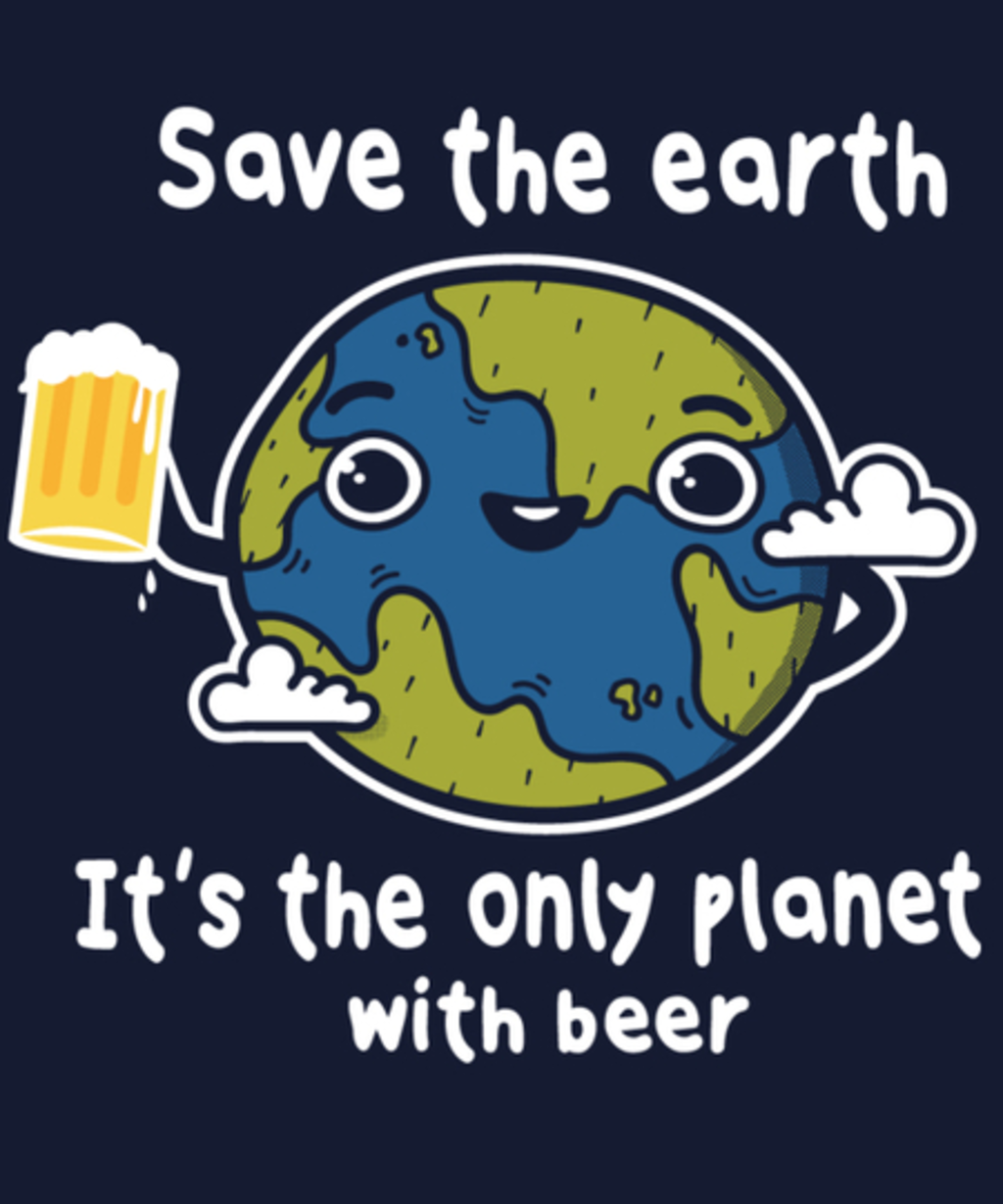 Qwertee: The only planet with beer