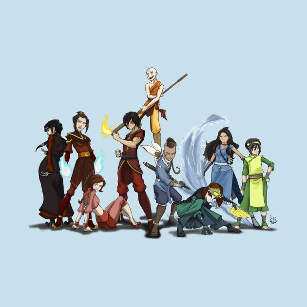 TeePublic: Avatar: the Last Airbender Group