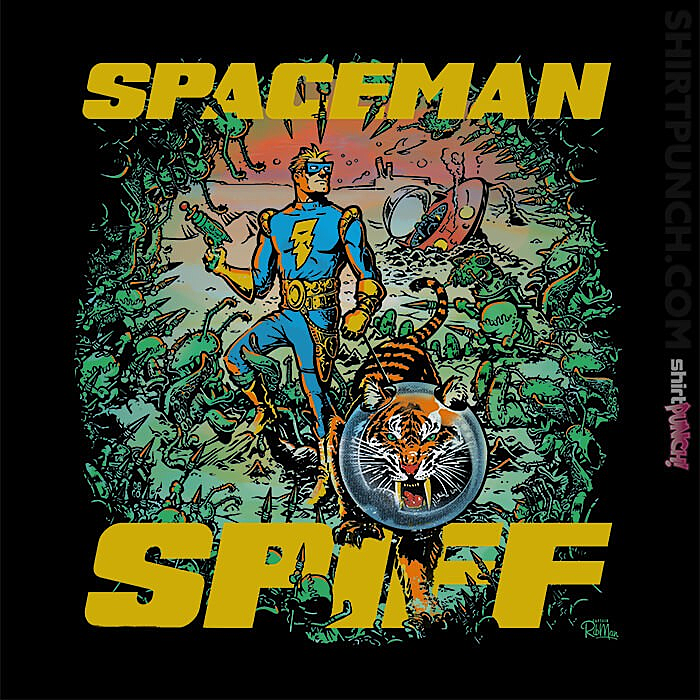ShirtPunch: Spaceman Spiff