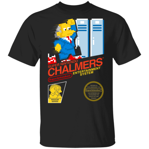 Pop-Up Tee: Super Chalmers