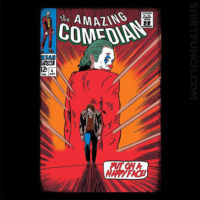 ShirtPunch: The Amazing Comedian