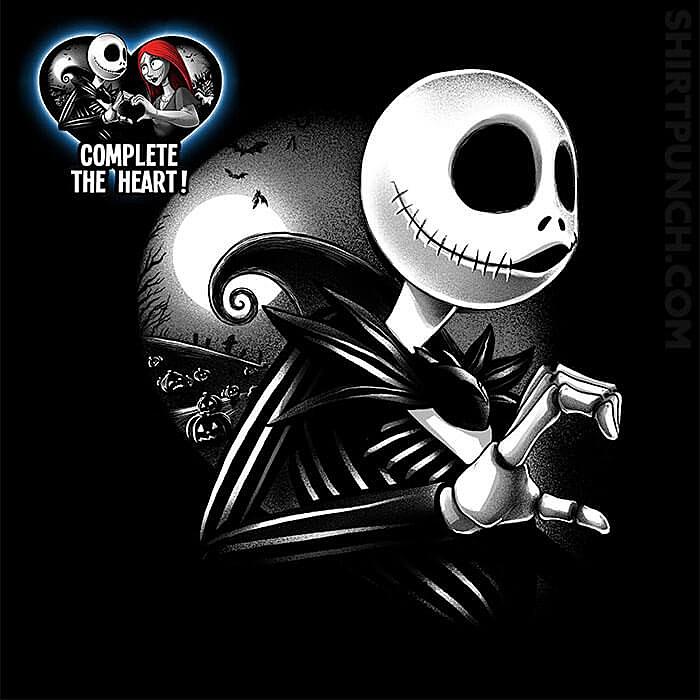 ShirtPunch: Her Skeleton