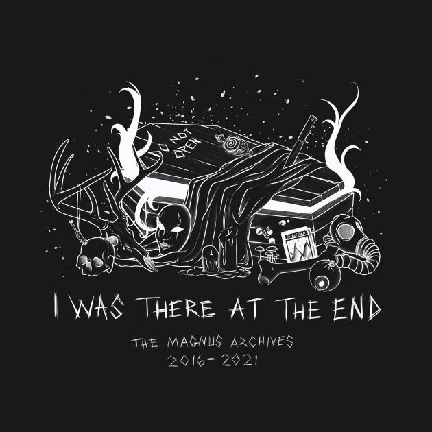 TeePublic: RIP Magnus (Light)