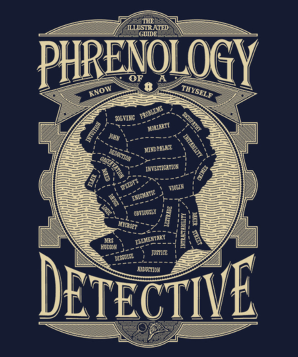 Qwertee: Phrenology of a detective