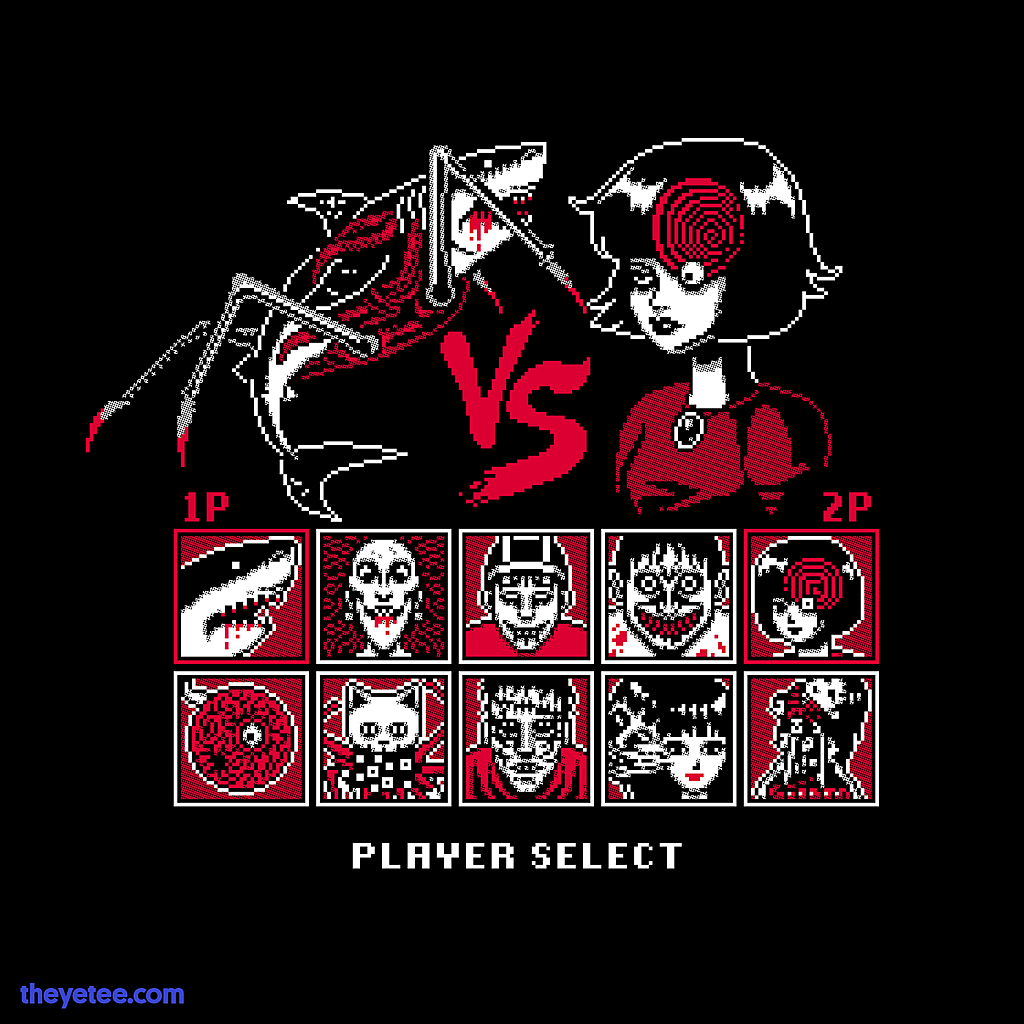 The Yetee: Horror Fighting Game
