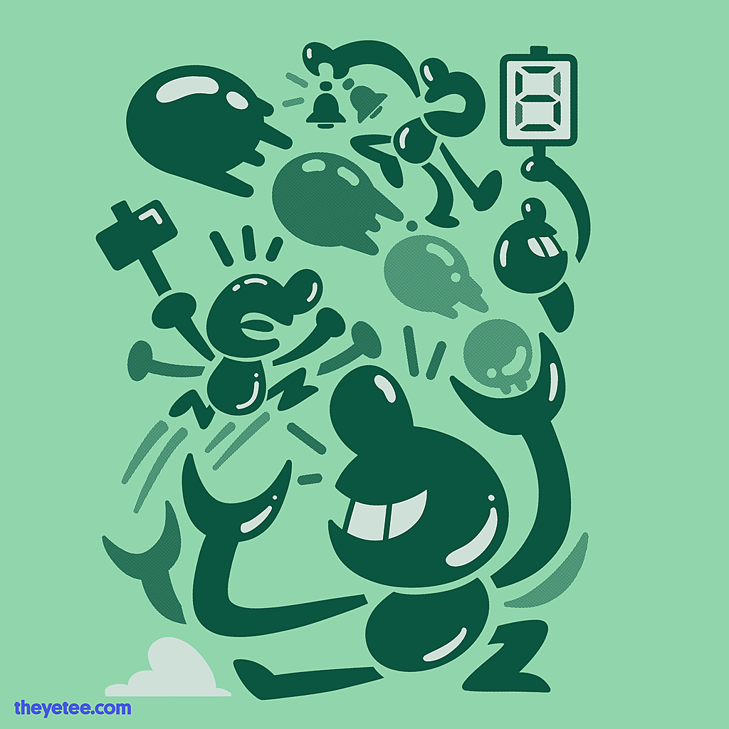 The Yetee: Oldskl LCD