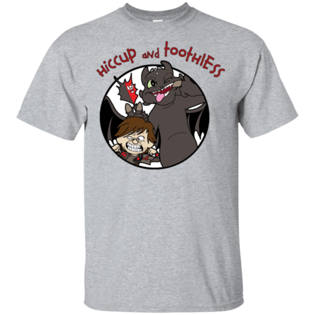 Pop-Up Tee: Hiccup and Toothless