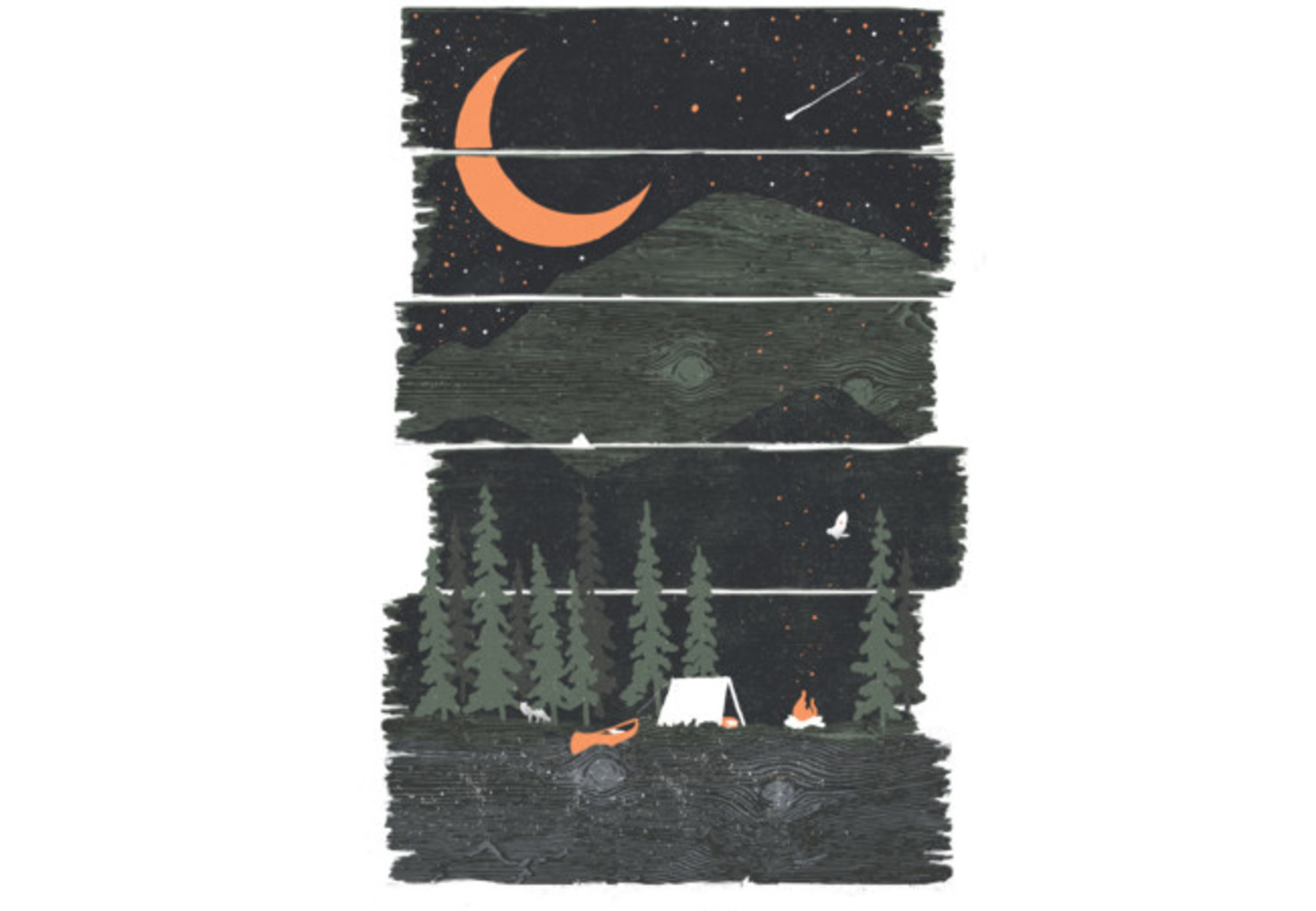 Design by Humans: Wish I Was Camping...