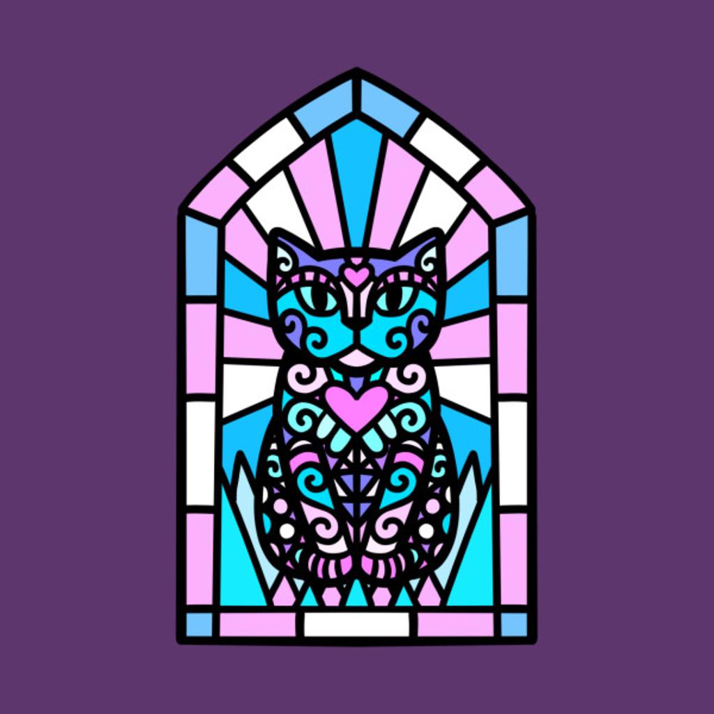 TeePublic: Trans cat god