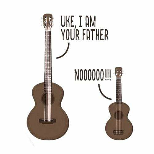 BustedTees: Uke, I am Your Father Mug