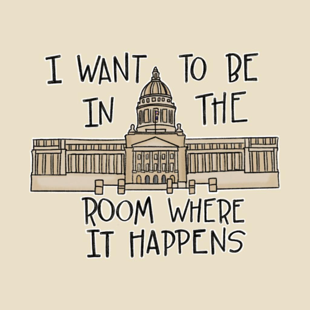 TeePublic: Behind Capitol Doors