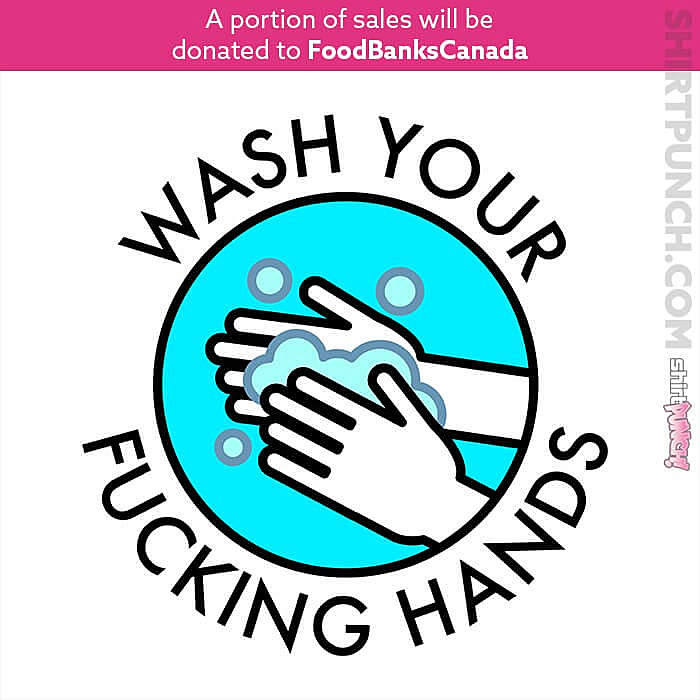 ShirtPunch: Wash Your F Hands