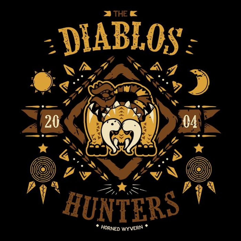 Once Upon a Tee: The Diablos Hunters