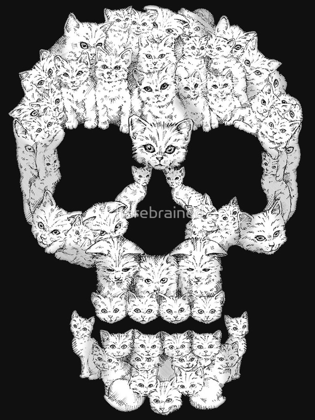 RedBubble: Skulls are for Pussies