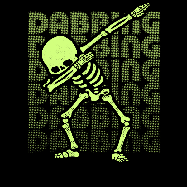 NeatoShop: Dabbing Skeleton Type Glow Effect