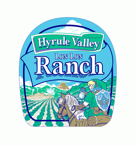 BustedTees: Hyrule Valley Ranch