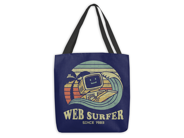 Woot!: Web Surfer Tote Bag