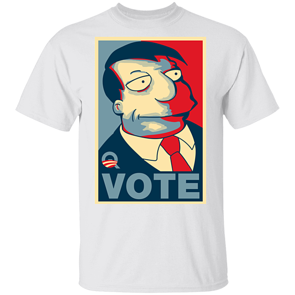 Pop-Up Tee: Vote Quimby