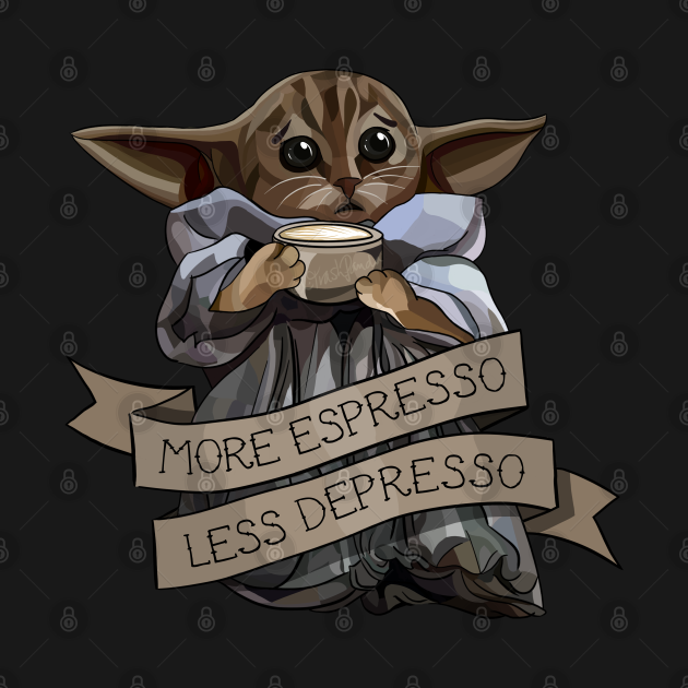 TeePublic: More Espresso, Less Depresso