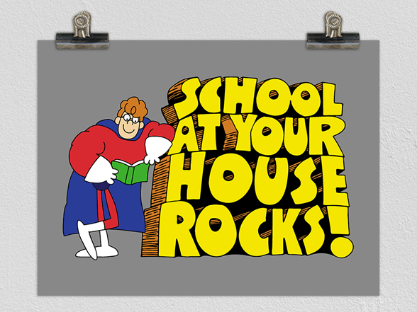 Woot!: School At Your House! Poster