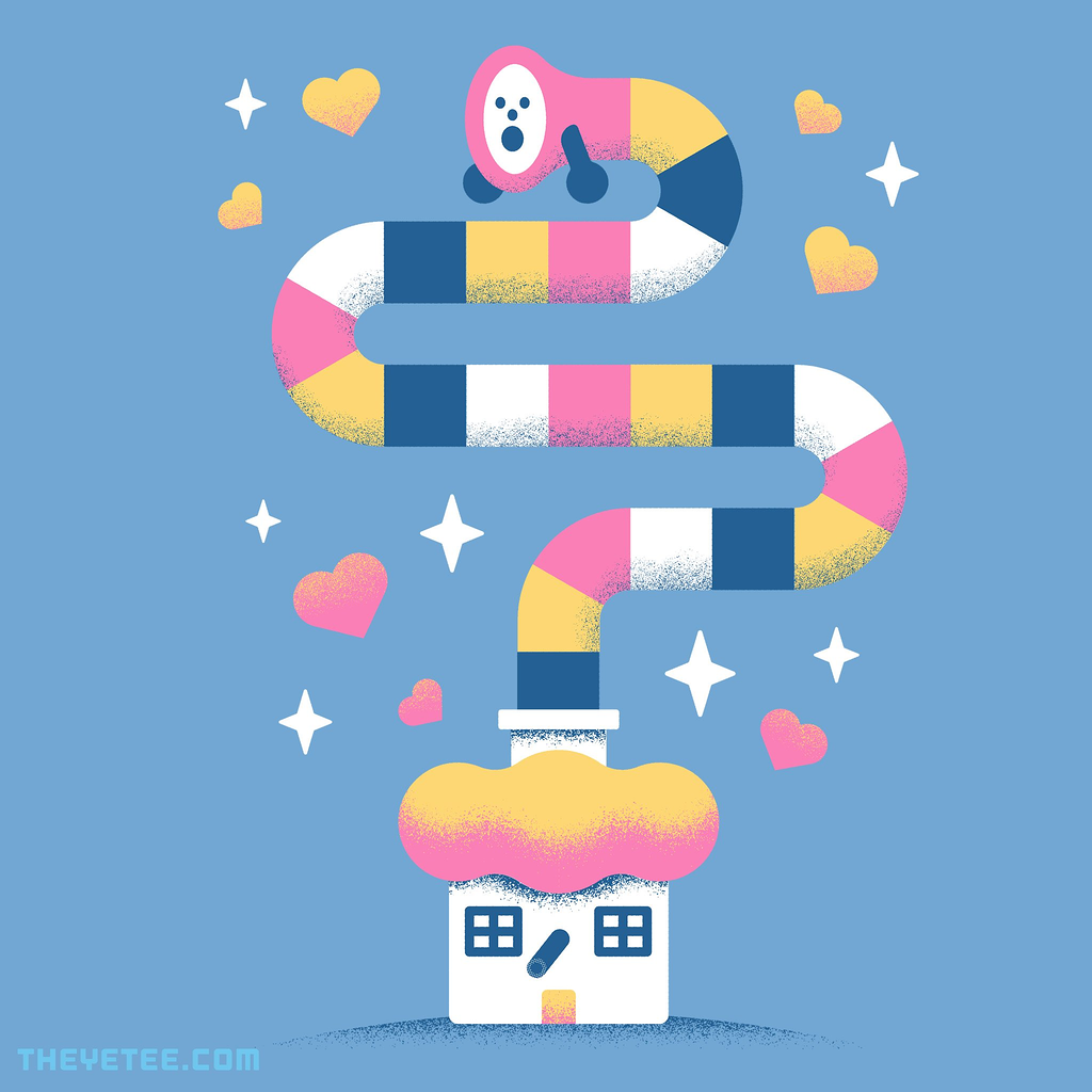 The Yetee: Super Stretchy Boy