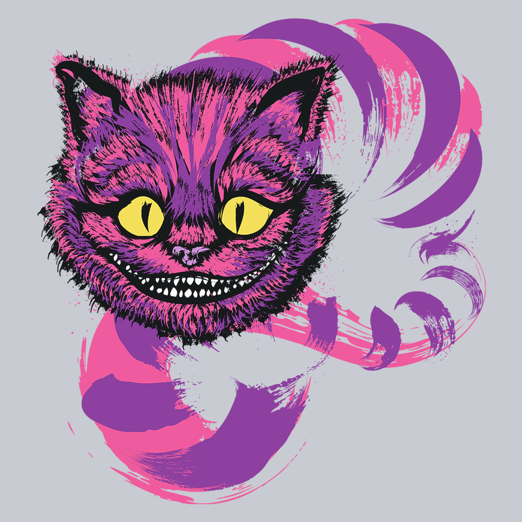 Pop-Up Tee: Grinning Like a Cheshire Cat 2