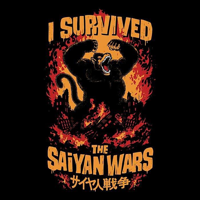 Once Upon a Tee: I Survived The Saiyan Wars