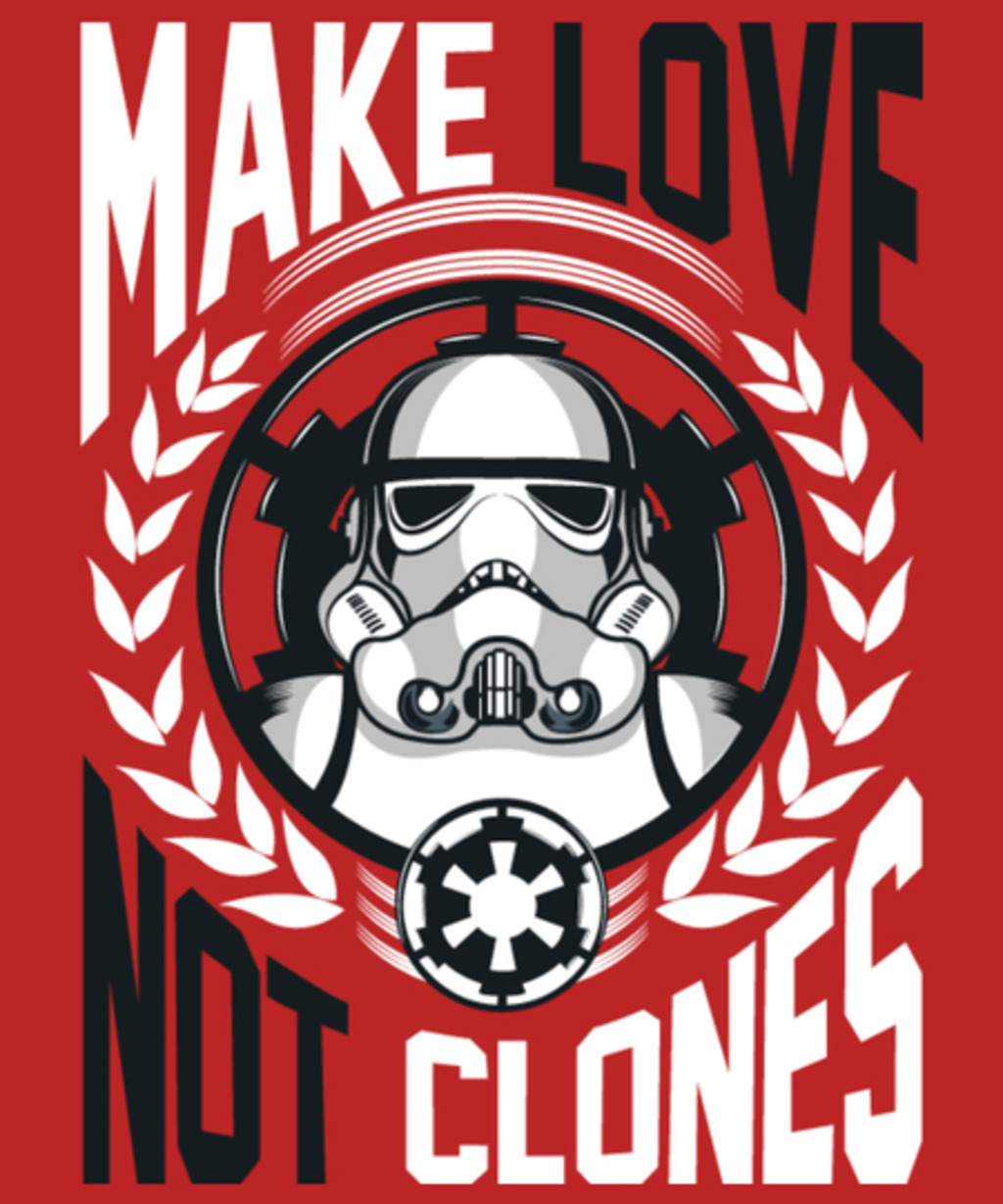 Qwertee: Make love not clones
