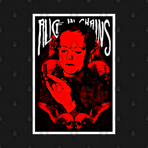 TeePublic: Alice in Chains