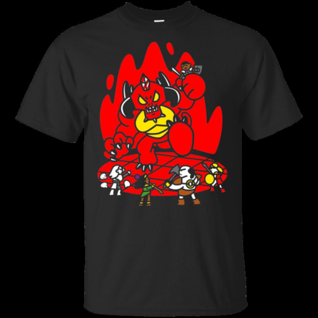 Pop-Up Tee: Chibi Battle Diablo