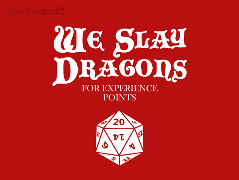 Woot!: Dragonslayers - $15.00 + Free shipping