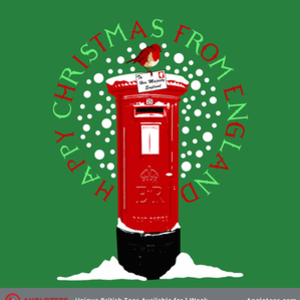 Anglotees: Happy Christmas from England