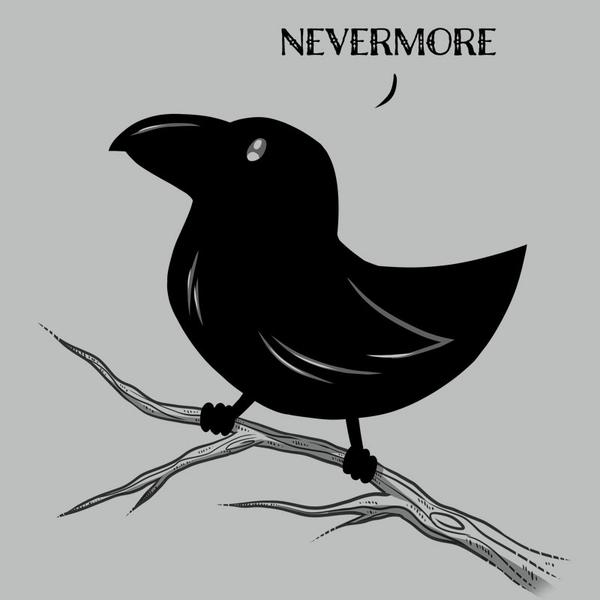 TeeTurtle: The Raven