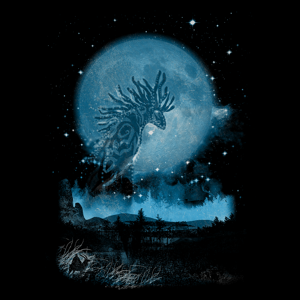 Pop-Up Tee: Night Walker