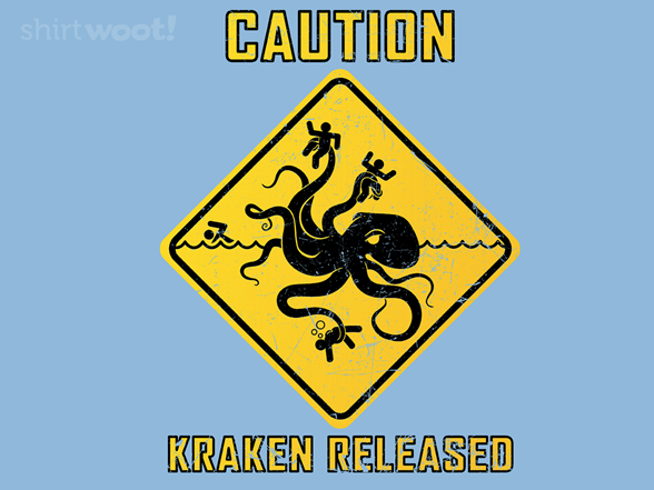 Woot!: CAUTION: KRAKEN RELEASED