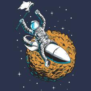 Textual Tees: Rocket Rider