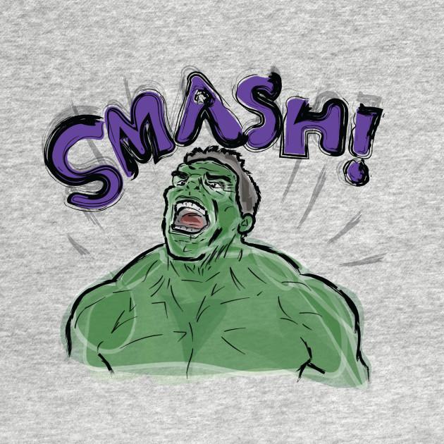 TeePublic: Hulk SMASH