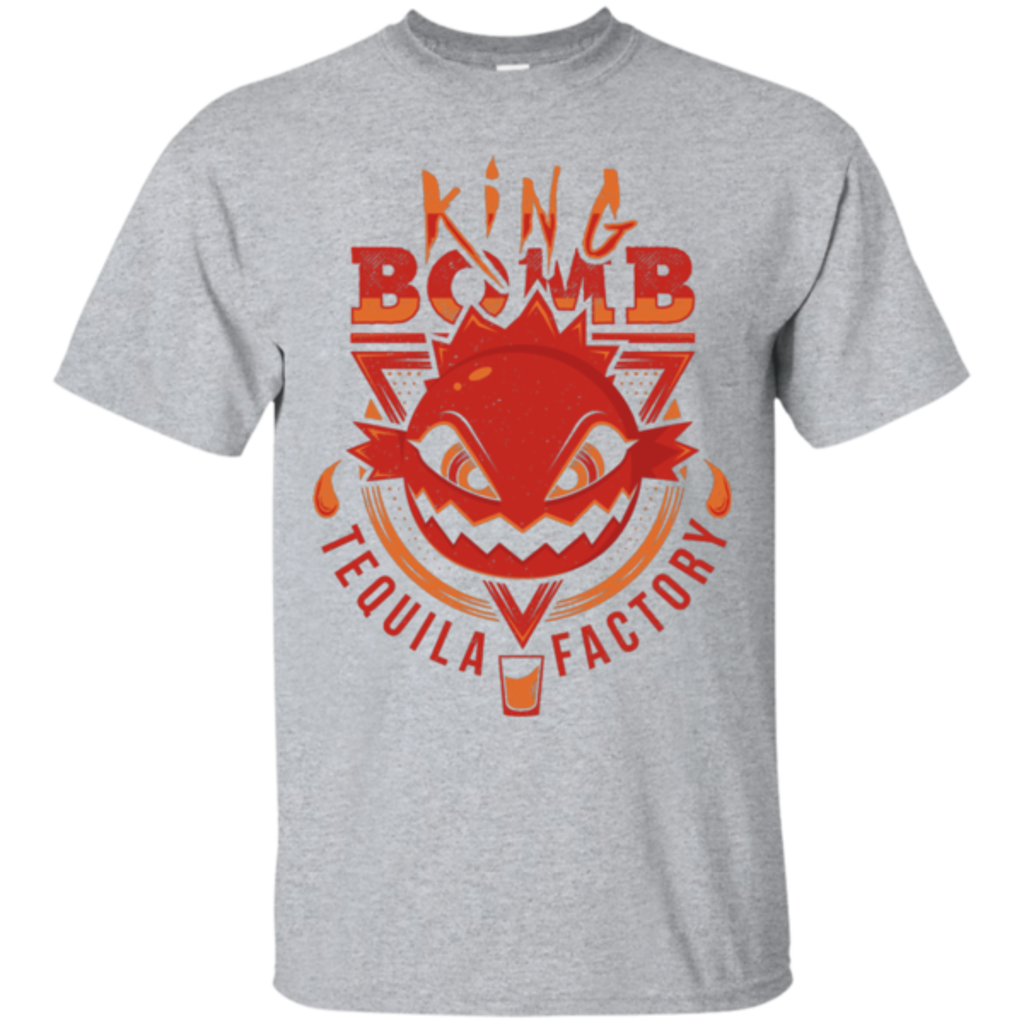 Pop-Up Tee: King Bomb Tequila
