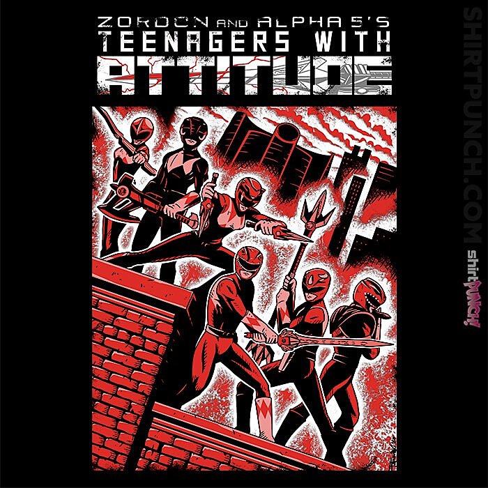 ShirtPunch: Teens With Attitude