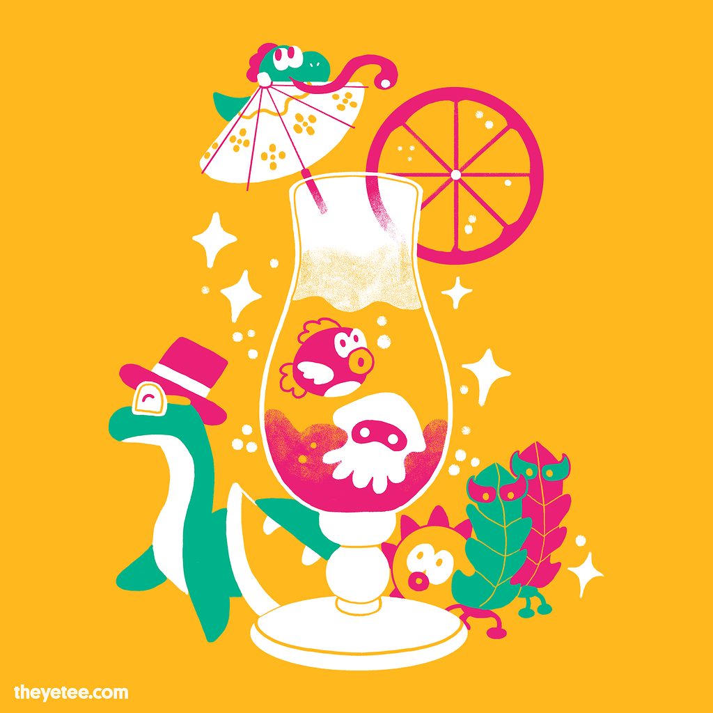 The Yetee: Tropical Pals