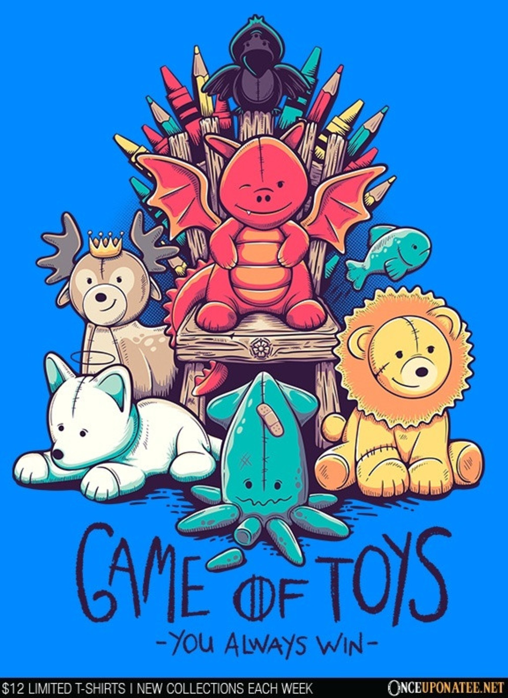 Once Upon a Tee: Game of Toys