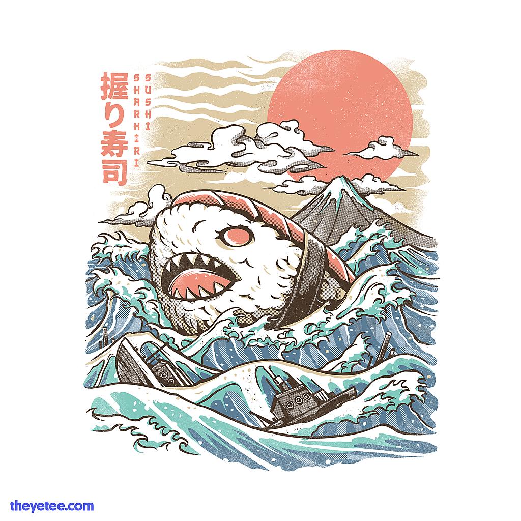 The Yetee: Sharkiri Sushi