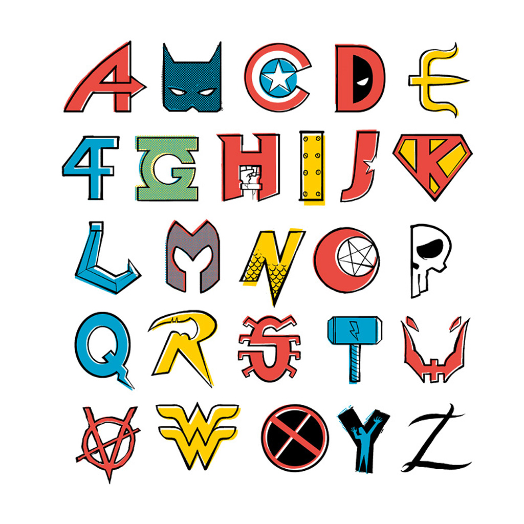TeeTee: Comics Alphabet
